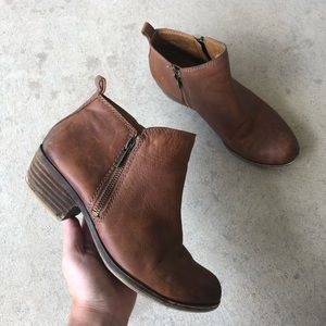 Lucky Brand Tan Ankle Boots Size 7M
